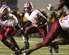 photo by Tim Casey<br /> <br /> Greg Reid runs from the backfield during the Lowndes County High School Vikings' 14-7 win against the Valdosta Wildcats in the Winnersville Classic on Friday, October 10, 2008 at Cleveland Field at Bazemore-Heyder Stadium in Valdosta, Ga.