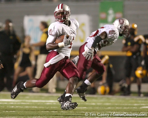 photo by Tim Casey<br /> <br /> during the Lowndes County High School Vikings' 14-7 win against the Valdosta Wildcats in the Winnersville Classic on Friday, October 10, 2008 at Cleveland Field at Bazemore-Heyder Stadium in Valdosta, Ga.