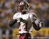 photo by Tim Casey<br /> <br /> Greg Reid celebrates a touchdown during the Lowndes County High School Vikings' 14-7 win against the Valdosta Wildcats in the Winnersville Classic on Friday, October 10, 2008 at Cleveland Field at Bazemore-Heyder Stadium in Valdosta, Ga.
