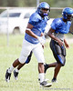 LB Eric Striker during the Armwood Hawks' practice on Monday, August 15, 2011 at Armwood High School in Seffner, Fla. / Gator Country photo by Tim Casey