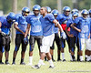 Oklahoma LB commit Eric Striker during the Armwood Hawks' practice on Monday, August 15, 2011 at Armwood High School in Seffner, Fla. / Gator Country photo by Tim Casey