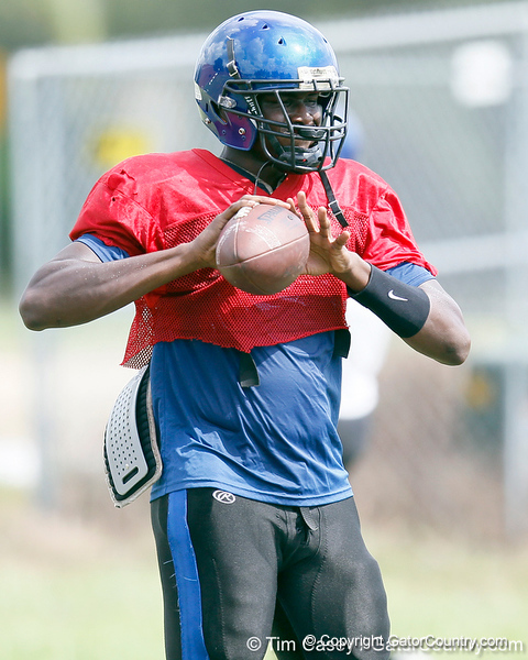 Darryl Richardson during the Armwood Hawks' practice on Monday, August 15, 2011 at Armwood High School in Seffner, Fla. / Gator Country photo by Tim Casey