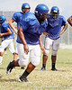 during the Armwood Hawks' practice on Monday, August 15, 2011 at Armwood High School in Seffner, Fla. / Gator Country photo by Tim Casey
