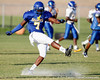 Tampa (Jefferson HS) defensive end Tyriq McCord follows through on a kick during the Dragons' practice on Monday, August 15, 2011 at Thomas Jefferson High School in Tampa, Fla. / Gator Country photo by Tim Casey