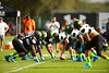 2015 high school football recruits practice and run drills during the first day of practice for the 2015 Under Armour All-America High School Football Game.  2015 Under Armour All-America High School Football Game Practice Day 1.  December 29th, 2014. Gator Country photo by David Bowie.
