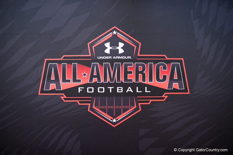 2015 Under Armour All-America High School Football Game Practice Day 1.  December 29th, 2014. Gator Country photo by David Bowie.