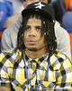 Fort Washington, Md. (Friendly HS) safety Jordan Haden watches before the Gators' 27-3 win against Vanderbilt on Saturday, November 7, 2009 at Ben Hill Griffin Stadium in Gainesville. / Gator Country photo by Tim Casey