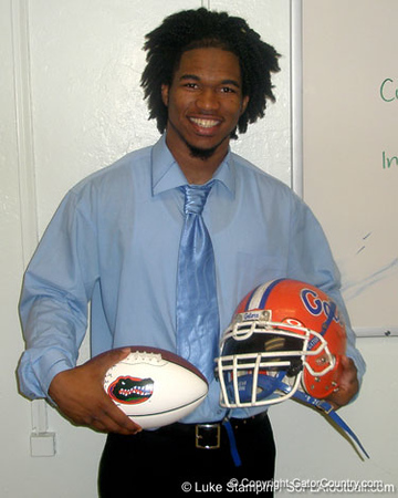 Homestead (Homestead HS) linebacker Darrin Kitchens announced his commitment to the University of Florida on Wednesday. / photo courtesy of Luke Stampini, SoFLAfootball.com