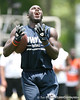 Palm Beach Gardens (Dwyer HS) safety Matt Elam works out during the Heath Evans Foundation's 4th Annual 7-on-7 Championship on Saturday, June 20, 2009 at The King's Academy in West Palm Beach, Fla. / Gator Country photo by Tim Casey<br /> <br /> The event was held to help raise funds for The Heath Evans Foundation that is dedicated to fostering hope and healing in the lives of children and families affected by sexual abuse.