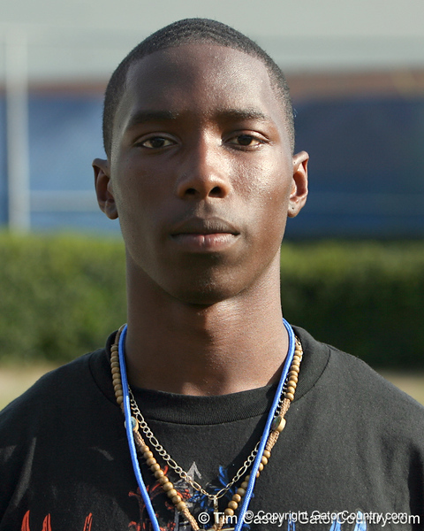 Cape Coral (Cape Coral HS) cornerback Jaylen Watkins committed to Florida before the Gators' tenth day of spring football practice on Friday, April 10, 2009 at the Sanders football practice fields in Gainesville, Fla. / Gator Country photo by Tim Casey