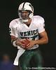 Nokomis (Venice HS) quarterback Trey Burton runs during the Indians' 34-10 win against the Southeast Seminoles on Friday, October 2, 2009 at John Kiker Memorial Stadium in Bradenton, Fla. / Gator Country photo by Tim Casey