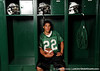 Nokomis (Venice HS) quarterback Trey Burton stands for a portrait on Friday, May 1, 2009 in Venice, Fla. / Gator Country photo by Casey Brooke Lawson