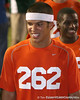 Nokomis (Venice HS) quarterback Trey Burton leaves the field after Friday Night Lights, a one-session football camp on Friday, July 18, 2008 at Ben Hill Griffin Stadium / Gator Country photo by Tim Casey