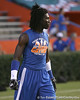 Pahokee (Pahokee HS) wide receiver Chris Dunkley works out during Friday Night Lights, a one-night football camp at the University of Florida, on Friday, July 24, 2009 at Ben Hill Griffin Stadium in Gainesville, Fla. / Gator Country photo by Tim Casey