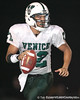 Venice quarterback Trey Burton scrambles away from a defender during the Indians' 34-10 win against the Southeast Seminoles on Friday, October 2, 2009 at John Kiker Memorial Stadium in Bradenton, Fla. / Gator Country photo by Tim Casey
