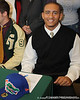 Orange Park (Fleming Island HS) offensive lineman Ian Silberman signs his National Letter of Intent on February 3, 2010 at Fleming Island High School in Orange Park. / photo by Joseph Lorentzson for Gator Country.com