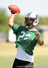 Nokomis (Venice HS) quarterback Trey Burton works out during a team practice on Friday, May 1, 2009 in Venice, Fla. / Gator Country photo by Casey Brooke Lawson