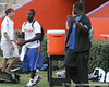 Palm Beach Gardens (Dwyer HS) safety Matt Elam arrives at Friday Night Lights, a one-night football camp at the University of Florida, on Friday, July 24, 2009 at Ben Hill Griffin Stadium in Gainesville, Fla. / Gator Country photo by Tim Casey