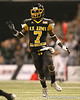 Cape Coral (Cape Coral HS) cornerback Jaylen Watkins runs on punt coverage during the first half of the U.S. Army All-American Bowl on Saturday, January 9, 2010 at the Alamodome in San Antonio, Texas. / Gator Country photo by Tim Casey