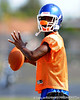 Cape Coral (Cape Coral HS) cornerback Jaylen Watkins works out on the second day of Spring practice on Saturday, May 2, 2009 in Cape Coral, Fla. / Gator Country photo by Casey Brooke Lawson