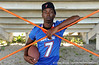 Cape Coral (Cape Coral HS) cornerback Jaylen Watkins poses for a photo on Saturday, May 2, 2009 in Cape Coral, Fla. / Gator Country photo by Casey Brooke Lawson