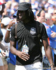 Pahokee (Pahokee HS) wide receiver Chris Dunkley watches during the Gators' game against the Tennessee Volunteers on Saturday, September 19, 2009 at Ben Hill Griffin Stadium in Gainesville, Fla. / Gator Country photo by Tim Casey