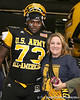 Philadelphia (George Washington HS) defensive tackle Sharrif Floyd poses for a photo during the first half of the U.S. Army All-American Bowl on Saturday, January 9, 2010 at the Alamodome in San Antonio, Texas. / Gator Country photo by Tim Casey