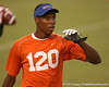 Miami (Booker T. Washington HS) wide receiver Quinton Dunbar works out at Friday Night Lights, a one-session football camp on  Friday, July 18, 2008 at Ben Hill Griffin Stadium / Gator Country photo by Tim Casey