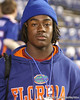 Palmdale, Calif. (Palmdale HS) cornerback Joshua Shaw leaves the Florida locker room after the Gators' 27-3 win against the Vanderbilt Commodores on Saturday, November 7, 2009 at Ben Hill Griffin Stadium in Gainesville, Fla. / Gator Country photo by Tim Casey