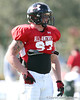 photo by Tim Casey<br /> <br /> Defensive end Justin Chaisson (Oklahoma commit) works out during the first day of practice leading up to the Under Armour All-America Game on Wednesday, December 31, 2008 at Disney's Wide World of Sports Complex in Lake Buena Vista, Fla.