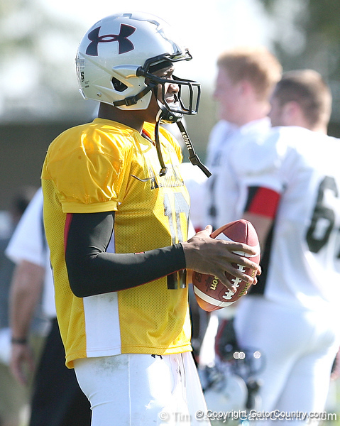 photo by Tim Casey<br /> <br /> Quarterback Russell Shepard (LSU commit) works out during the first day of practice leading up to the Under Armour All-America Game on Wednesday, December 31, 2008 at Disney's Wide World of Sports Complex in Lake Buena Vista, Fla.