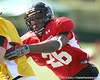 photo by Tim Casey<br /> <br /> Defensive end Sam Montgomery (undecided) works out during the first day of practice leading up to the Under Armour All-America Game on Wednesday, December 31, 2008 at Disney's Wide World of Sports Complex in Lake Buena Vista, Fla.