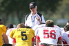 photo by Tim Casey<br /> <br /> White team head coach Marv Levy talks during the first day of practice leading up to the Under Armour All-America Game on Wednesday, December 31, 2008 at Disney's Wide World of Sports Complex in Lake Buena Vista, Fla.