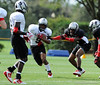 Photo by Casey Brooke Lawson<br /> <br /> RB Chris Thompson runs with the ball during the third day of practice leading up to the Under Armour All-America Game on Friday, January 2, 2009 at Disney's Wide World of Sports Complex in Lake Buena Vista, Fla.