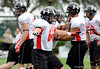 Photo by Casey Brooke Lawson<br /> <br /> Center Mark Brazinski works out during the third day of practice leading up to the Under Armour All-America Game on Friday, January 2, 2009 at Disney's Wide World of Sports Complex in Lake Buena Vista, Fla.