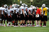 Photo by Casey Brooke Lawson<br /> <br /> Team Black works out during the third day of practice leading up to the Under Armour All-America Game on Friday, January 2, 2009 at Disney's Wide World of Sports Complex in Lake Buena Vista, Fla.