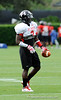 Photo by Casey Brooke Lawson<br /> <br /> Running back Washaun Ealey works out during the third day of practice leading up to the Under Armour All-America Game on Friday, January 2, 2009 at Disney's Wide World of Sports Complex in Lake Buena Vista, Fla.