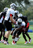 Photo by Casey Brooke Lawson<br /> <br /> Players work out during the third day of practice leading up to the Under Armour All-America Game on Friday, January 2, 2009 at Disney's Wide World of Sports Complex in Lake Buena Vista, Fla.