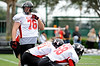 Photo by Casey Brooke Lawson<br /> <br /> Offensive tackle Kevin Graf works out during the third day of practice leading up to the Under Armour All-America Game on Friday, January 2, 2009 at Disney's Wide World of Sports Complex in Lake Buena Vista, Fla.