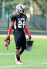 Photo by Casey Brooke Lawson<br /> <br /> DB Greg Reid during a break in the action of the third day of practice leading up to the Under Armour All-America Game on Friday, January 2, 2009 at Disney's Wide World of Sports Complex in Lake Buena Vista, Fla.