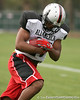 photo by Tim Casey<br /> <br /> Team Click-Clack running back Jamie Harper (Jacksonville - no commitment) works out at the first day of practice for the Under Armour All-America High School Football Game on Monday, December 31, 2007 at Disney's Wide World of Sports Complex in Lake Buena Vista, Fla. The game will be played on Jan. 5, 2008.