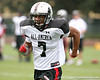photo by Tim Casey<br /> <br /> Team Click-Clack wide receiver TJ Lawrence (Lakeland - no commitment) works out at the first day of practice for the Under Armour All-America High School Football Game on Monday, December 31, 2007 at Disney's Wide World of Sports Complex in Lake Buena Vista, Fla. The game will be played on Jan. 5, 2008.