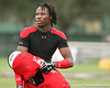 photo by Tim Casey<br /> <br /> Team Click-Clack cornerback Janoris Jenkins (Pahokee - Florida commitment) works out at the first day of practice for the Under Armour All-America High School Football Game on Monday, December 31, 2007 at Disney's Wide World of Sports Complex in Lake Buena Vista, Fla. The game will be played on Jan. 5, 2008.