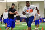 Florida Gators recruit Toryque Bateman running drills as the Gators host their annual Friday Night Lights camp at Ben Hill Griffin Stadium and Indoor Practice Facility.  July 22nd, 2016.  Gator Country Photo by David Bowie.