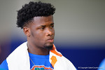 Florida Gators 2016 recruit Kemore Gamble as the Gators host their annual Friday Night Lights camp at Ben Hill Griffin Stadium and Indoor Practice Facility.  July 22nd, 2016.  Gator Country Photo by David Bowie.