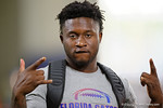 Florida Gators defensive back Duke Dawson poses for the camera as the Gators host their annual Friday Night Lights camp at Ben Hill Griffin Stadium and Indoor Practice Facility.  July 22nd, 2016.  Gator Country Photo by David Bowie.
