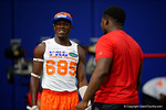Florida Gators recruit Adarius Lemons flashes a smile as the Gators host their annual Friday Night Lights camp at Ben Hill Griffin Stadium and Indoor Practice Facility.  July 22nd, 2016.  Gator Country Photo by David Bowie.