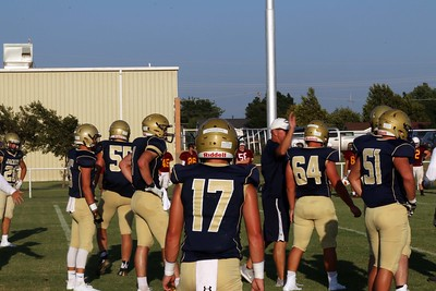 Football Scrimmage 8/23