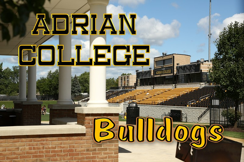Adrian College Football Stadium located on the campus of Adrian College and home to the Adrian College Bulldogs