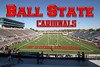Ball State University is located in Muncie, Indiana, and home to the Ball State Cardinals
